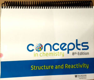 Concepts In Chemistry: Structure and Reactivity (Dalhousie)