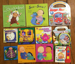 SONG AND RHYME Board Books $3 each or all 11 for $25