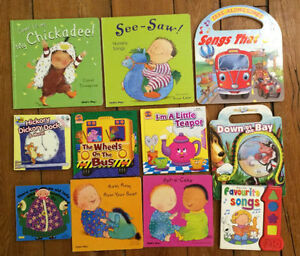 SONG AND RHYME Board Books $3 each or all 11 for $20