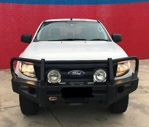 2014 Ford Ranger PX XL Double Cab White 6 Speed Sports Automatic Utility Pakenham Cardinia Area Preview
