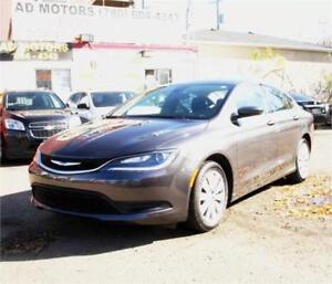 """NO ACCiDENT/ONE OWNER""   2015 CHRYSLER 200 S AUTO LOADED SPORTY"