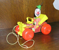 Clown vintage Fisher Price Jalopy Pull Toy # 724, bois,15$ Laval / North Shore Greater Montréal Preview