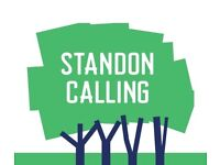 1x Adult weekend ticket for Standon Calling festival