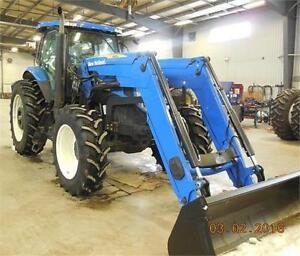 2010 NEW HOLLAND T7040 MFWD TRACTOR