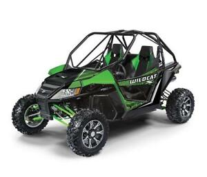 2018 TEXTRON/ARCTIC CAT WILDCAT X EPS BLOWOUT
