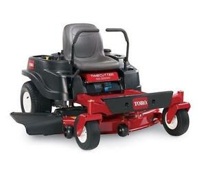 Toro zero turn lawn mower SS5000 MUST SELL