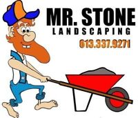 Mr. Stone Landscaping. The Interlock Specialists