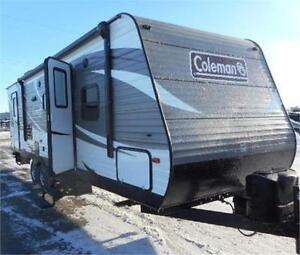 2017 COLEMAN 263BHS - FAMILY TRAILER