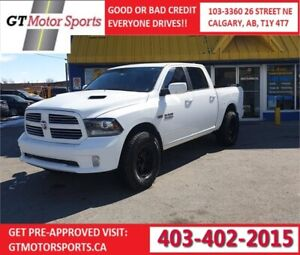 2014 Ram 1500 Sport Crew Cab | $0 DOWN - EVERYONE APPROVED!