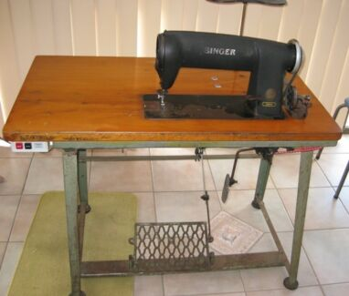 Antique Singer Industrial Sewing Machine Carindale Brisbane South East Preview