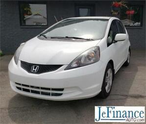 2013 Honda Fit DX-A 45$ PAR SEMAINE 0$ COMPTANT 100% APPROUVÉ