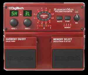 HarmonyMan Intelligent Pitch Shifter Guitar Effects Pedal