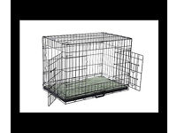 Wanted cage/crate for medium dog good condition £15.