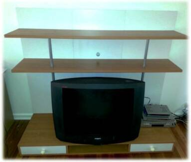 DISPLAY Shelf TV Cabinet TV Shelf Space Saver Stereo Stand South Melbourne Port Phillip Preview