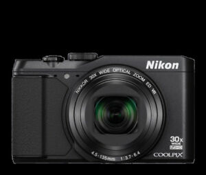 Compact digital camera Nikon S9900, mint condition - 270 CAD