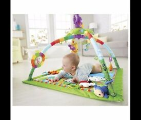 BRAND NEW, UNOPENED, Fisher-Price Rainforest Music And Lights Gym