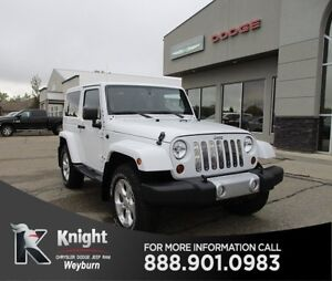 2013 Jeep Wrangler Sahara 4WD Low KMS Keyless Entry 1 Tax