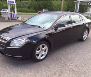 Chevrolet Malibu black colour(low kms) in excellent condition