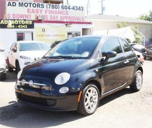 SALE THIS WEEK!!  2012 FIAT 500 AUTO LOADED SPORTY HATCHBACK..
