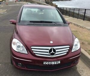 2007 Mercedes-Benz B200 /245 Red Automatic 5 DOOR HETCHBACK North Wollongong Wollongong Area Preview