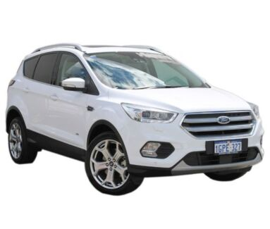 2018 Ford Escape ZG 2018.00MY Titanium PwrShift AWD White 6 Speed Sports Automatic Dual Clutch Wagon Midland Swan Area Preview