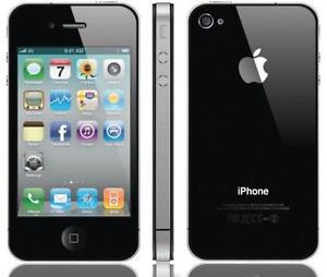 EXCELLENT ORIGINAL APPLE IPHONE 4S 32GB BELL+VIRGIN MOBILE WIFI TOUCH 4G MUSIC CAMERA INTERNET WORKING 100% PERFECTLY