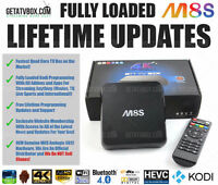 ★FULLY LOADED★ Android TV Box Original M8S M8 Quad Core