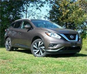 2016 Nissan Murano Platinum AWD|Moonroof|Leather|Navi|Bose