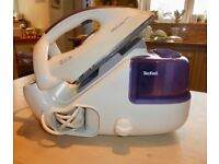Not just any old iron – this is the Tefal Pressing Easy Refill steam iron system!