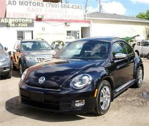 2013 VOLKSWAGEN BEETLE FENDER EDITION LEATHER SUNROOF PUSH START