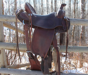 Vic Bennett Roping Saddle