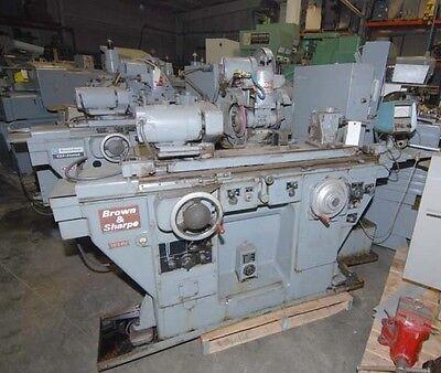 Brown Sharpe 1024u Cylindrical Universal Grinder Inv.15732