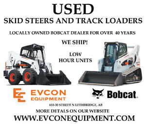 Used Skidsteers, Track loaders, and Excavators