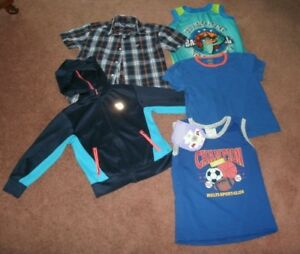 Boy's Spring/Summer Clothes, Size 5