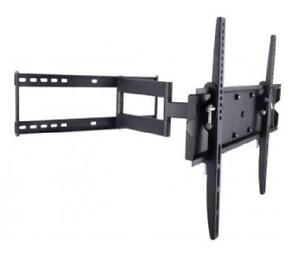 Techly 2-Arm Tilt/Swivel TV Wall Mount - 23-55 in - 70kg - VESA