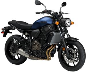 2019 YAMAHA - XSR700 MOTORCYCLE