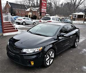2010 Kia Forte Koup SX |LEATHER|ROOF | Car Loans  For Any Credit
