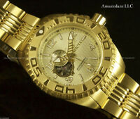 MONTRE NEUVE 18K Gold Plated Stainless Steel Open Heart