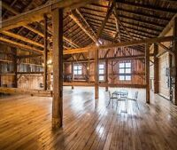Barn for your Wedding
