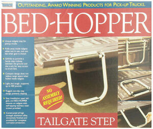 Top Line TS2000-02 Black Bed-Hopper Tailgate Step