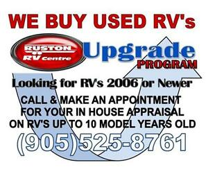WE BUY USED RV's Oakville / Halton Region Toronto (GTA) image 1
