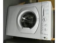 White hotpoint washing machine