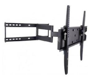 TECHly Full Motion TV Wall Mount - 23-55in - 50kg - Tilt 0 to -12 degrees - Swivel 180 degrees - VESA 400x400mm
