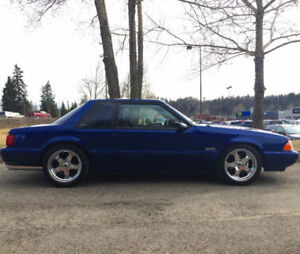 1991 Ford Mustang Coupe Notchback