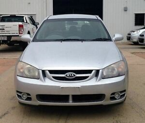 2006 Kia Cerato LD MY07 EX Silver Manual Hatchback Garbutt Townsville City Preview
