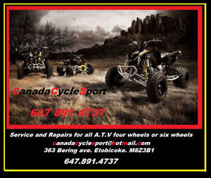 Motorcycles Service ATVs & Generator,Small Outboard,Lawnmower