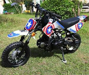 T4B Kids off road Dirt Bike Motocross 70cc 110cc Cool Graphics