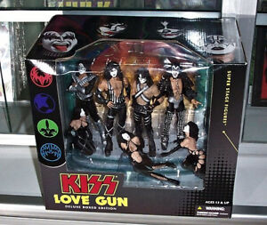 Kiss Love Gun Deluxe Boxed Edition By Mc Farlane Toys