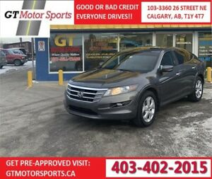 2012 Honda Crosstour EX-L  4WD | GUARANTEED APPROVALS! IN HOUSE!