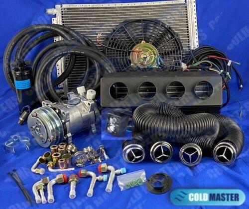 A/C KIT UNIVERSAL UNDER DASH EVAPORATOR 12V 450A-0FCSL W/Elec Harness 22.000 BTU